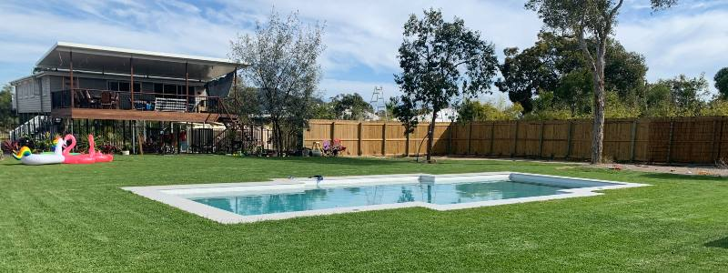 Finished Concrete Pool